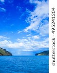 Small photo of High dynamic range (HDR) View of the sea in Akaroa, New Zealand