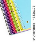 Colorful Spiral Notebooks...