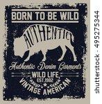 Vintage American  Wild Life...