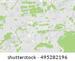 vector city map of edinburgh ...   Shutterstock .eps vector #495282196
