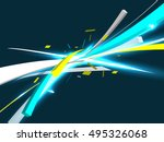 abstract background  technology ... | Shutterstock .eps vector #495326068