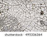 background of white  peeling... | Shutterstock . vector #495336364