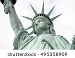 statue of liberty  liberty... | Shutterstock . vector #495358909