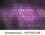 abstract violet creative... | Shutterstock . vector #495365149