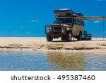 eli creek  fraser island ... | Shutterstock . vector #495387460