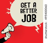megaphone hand  business... | Shutterstock .eps vector #495400060