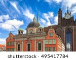 gdansk cathedral | Shutterstock . vector #495417784