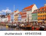 copenhagen  denmark   september ... | Shutterstock . vector #495455548