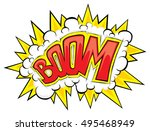 Comic Explosion Boom