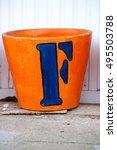 the english alphabet | Shutterstock . vector #495503788