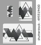 mockup covers for technology... | Shutterstock .eps vector #495519430
