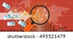 foreign investment global money ... | Shutterstock .eps vector #495521479