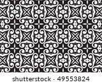 decorative wallpaper design in... | Shutterstock .eps vector #49553824