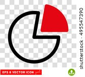 vector pie charts eps vector... | Shutterstock .eps vector #495547390