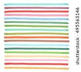 color highlight stripes ... | Shutterstock .eps vector #495563146