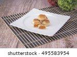 arabic desserts  | Shutterstock . vector #495583954