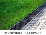 Waterway And Road   Grass....