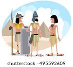 vector illustration of a... | Shutterstock .eps vector #495592609