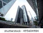 hong kong   december 6  2015 ... | Shutterstock . vector #495604984