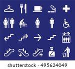 office or shoping center... | Shutterstock .eps vector #495624049