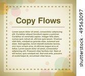 template design | Shutterstock .eps vector #49563097