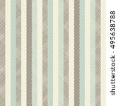 seamless abstract striped... | Shutterstock .eps vector #495638788