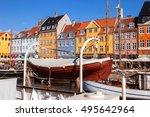 copenhagen  denmark   september ... | Shutterstock . vector #495642964