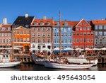 copenhagen  denmark   september ...   Shutterstock . vector #495643054
