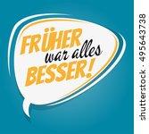 retro speech bubble with german ...   Shutterstock .eps vector #495643738