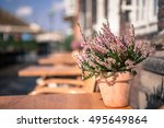 close up view of nyhavn ... | Shutterstock . vector #495649864