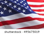flag of the usa | Shutterstock . vector #495675019