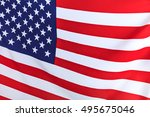 flag of the usa | Shutterstock . vector #495675046