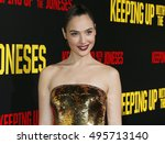gal gadot at the los angeles... | Shutterstock . vector #495713140