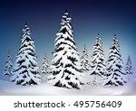 christmas greeting card pine ...