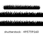 grass side 01 | Shutterstock .eps vector #495759160
