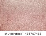 rose gold abstract glitter... | Shutterstock . vector #495767488
