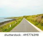 road to the beach | Shutterstock . vector #495776398