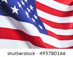 flag of the usa | Shutterstock . vector #495780166