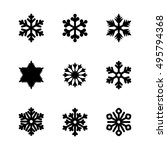 set of vector icons. black...