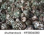 Pineapples Or Head Piled Up...