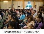 pathumtani thailand october 9... | Shutterstock . vector #495810754
