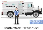 security concept. detailed... | Shutterstock .eps vector #495814054