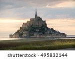 panoramic view of famous...   Shutterstock . vector #495832144