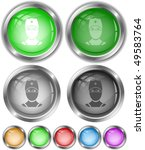 doctor. vector internet buttons. | Shutterstock .eps vector #49583764