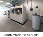 metal 3d printers  dmls .... | Shutterstock . vector #495878584