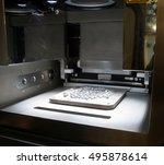 metal 3d printers  dmls ....   Shutterstock . vector #495878614