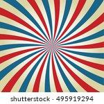 retro grunge  background  sun...   Shutterstock .eps vector #495919294