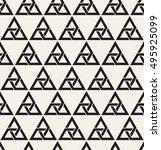 vector seamless pattern. modern ... | Shutterstock .eps vector #495925099