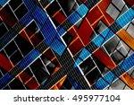 modular structure of modern... | Shutterstock . vector #495977104