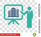 vector realty project... | Shutterstock .eps vector #496000234
